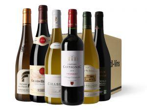 Pack découverte vins rouges/blancs