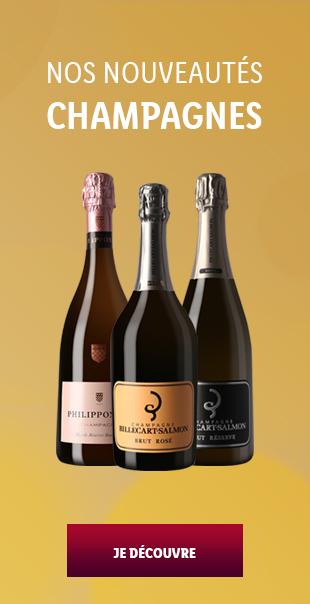 Bannerlist Nouveautés Champagnes