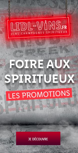 Promotions Foire aux Spiritueux