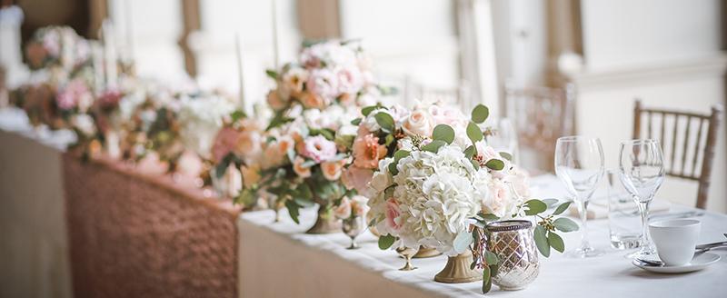 table repas de mariage vin
