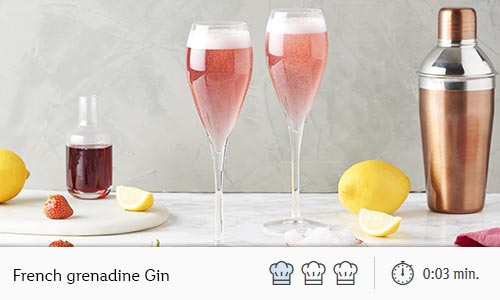 french grenadine gin