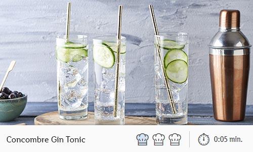 concombre gin tonic