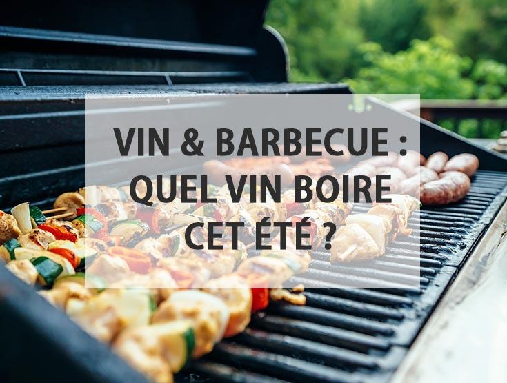 Vin et barbecue : quel vin boire cet été ?