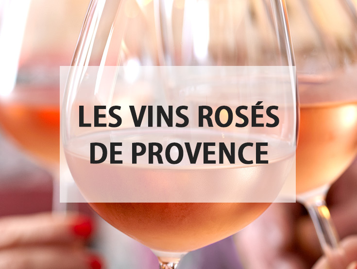 les vins rosés de provence