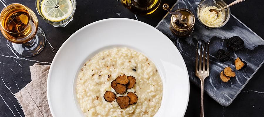 classique gastronomie italienne risotto