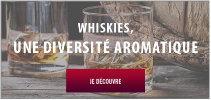 diversité aromatique des whiskies