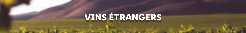 vins étrangers