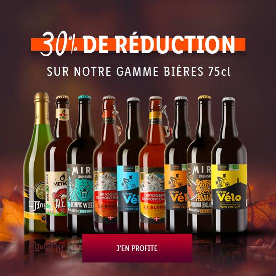 Les bières en promotions