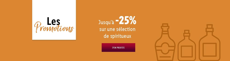 Les promotions Foire aux Spiritueux