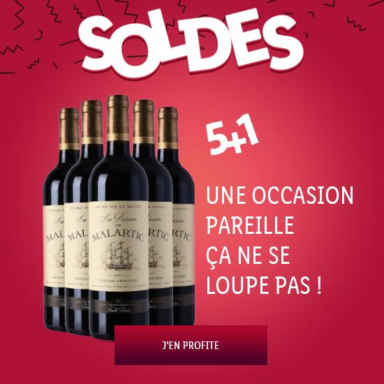 Soldes : Offre 5+1 !