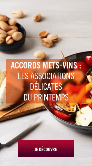 accords met vin printemps