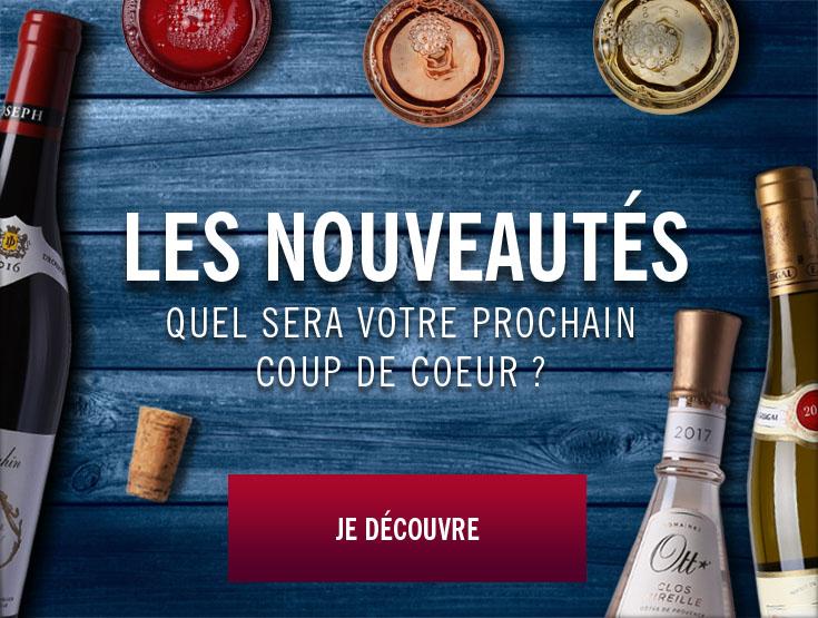 nouveautés vin