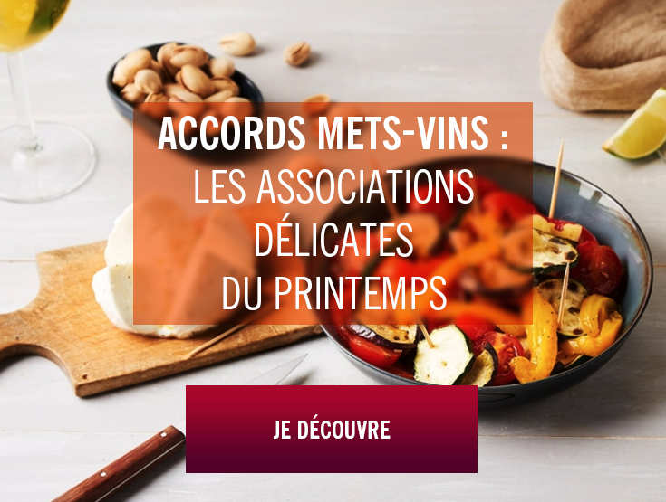 accords mets-vins printemps