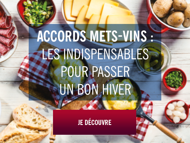 accords mets-vins hiver