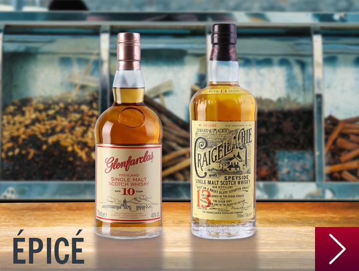 whisky epicé