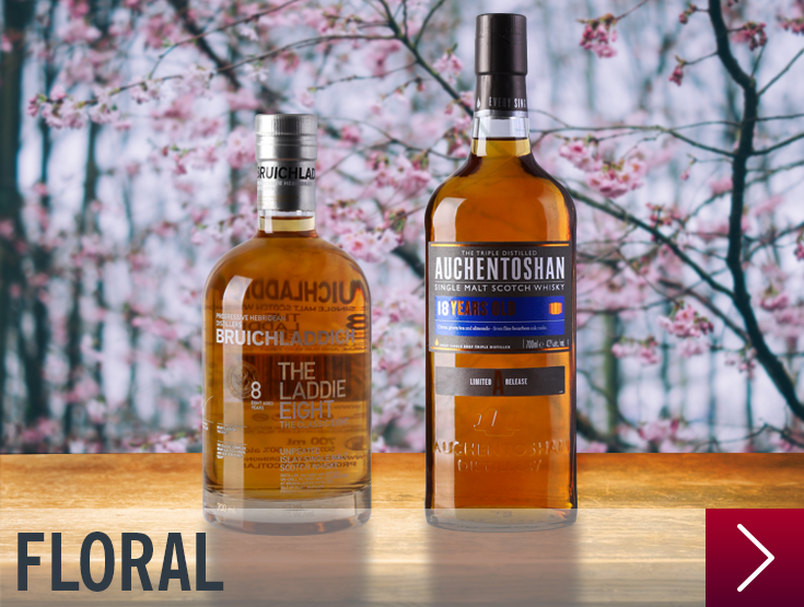 whisky floral