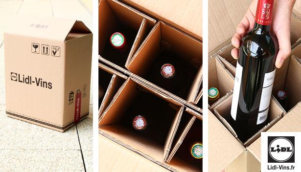 politique transport livraison lidl vins
