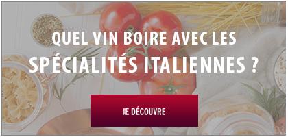 vins avec plats italiens