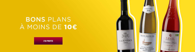 Bon plan Vins -10 euros