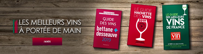 livres guides de vin