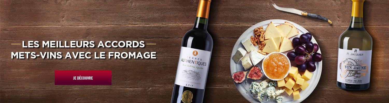 met vin fromage