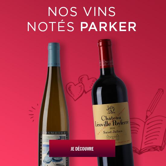 Les vins notés Parker