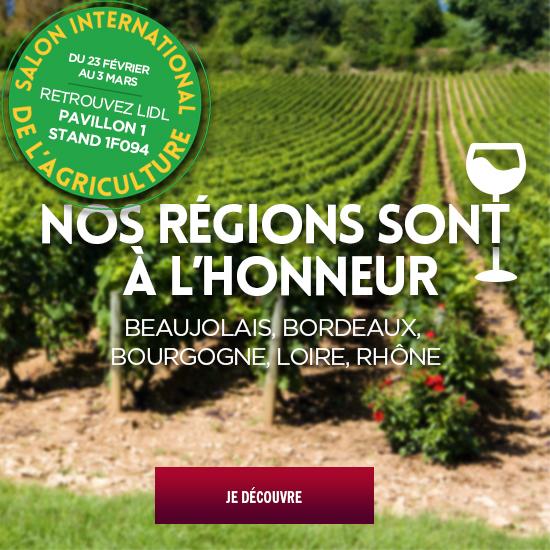 vin des regions