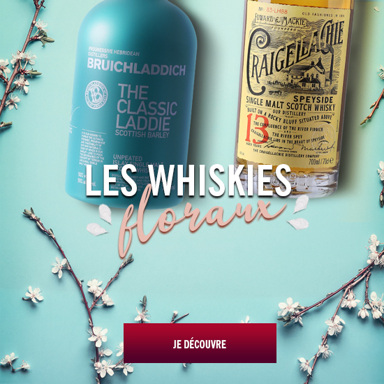 whiskies floraux